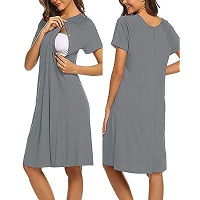Amazon - Save 30%: SUNNYME Women Nursing/Delivery/Labor/Hospital Nightdress Shor…