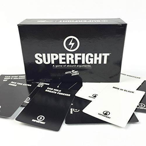 C-Y Superfight. Super Fighter Board-Spielkarte Kartenspiel Spielkarte lustige Weissagsspielzeug Englischbrettspiel. Für Familienfreund-Party-Unterhaltung