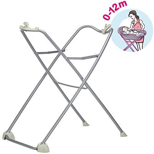 Tigex Support pour Baignoire Bébé Anatomy, Pliable, facilite le bain de Bébé, 12kg Max (0-12 Mois)