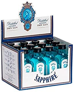 Bombay SAPPHIRE London Dry Gin 12 x 0.05 l