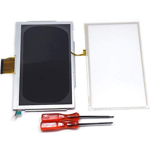Pantalla LCD y Pantalla Táctil Digitalizador de Vidrio con Destornillador de Repuesto para Nintendo Wii U Gamepad