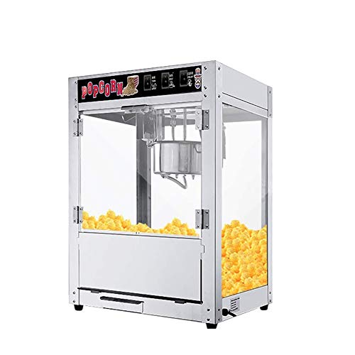 Learn More About QIN Popcorn Original Steel Stove,1400w Automatic Popcorn Machine Puffing Machine-si...