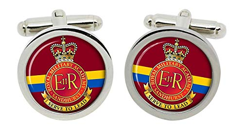 Gift Shop Royal Militär Akademie Sandhurst, Britische Armee Manschettenknöpfe in Box