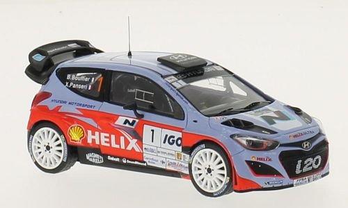 Hyundai i20 WRC, No.1, Motorsport, Shell Helix, Rallye Antibes, 2014, Modellauto, Fertigmodell, IXO 1:43