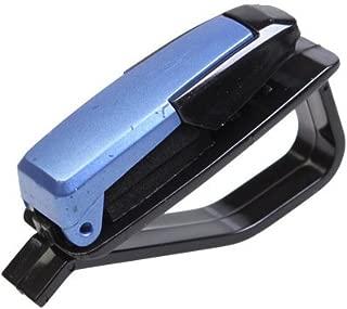 elegantstunning PU Leather Car Sun Visor Glasses Clip//Documents Folder//Card//CD Holder Multifunctional Storage Bag Clip,Beidge