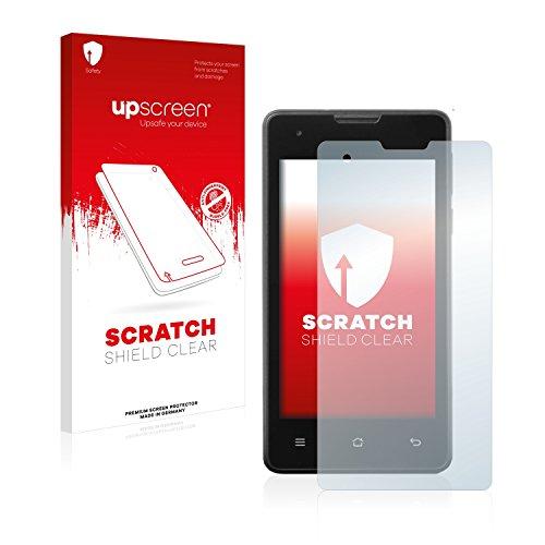 upscreen Schutzfolie kompatibel mit Medion Life E4005 (MD 99253) – Kristallklar, Kratzschutz, Anti-Fingerprint