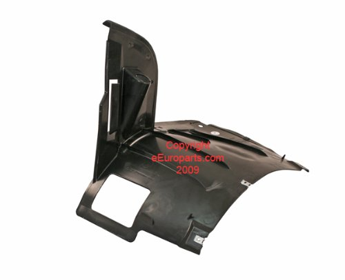 BMW e39 (01-03 non-M) Fender Liner RIGHT Front Lower GENUINE rh passenger