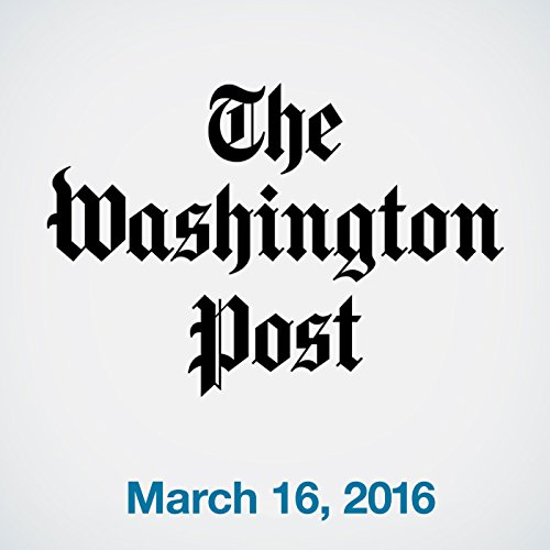 Top Stories Daily from The Washington Post, March 16, 2016 copertina