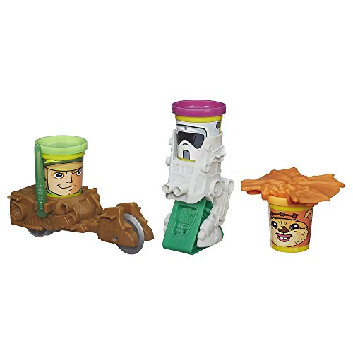 Play-Doh Star Wars Endor Forest Battle Action Figure