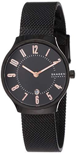 Skagen Women's Grenen Black Dial Watch - SKW2806