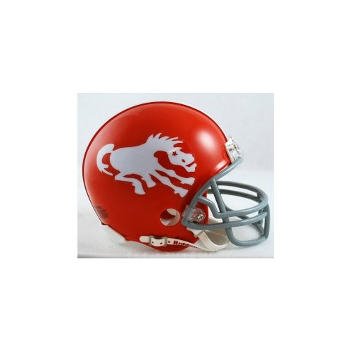 NFL Riddell Denver Broncos Throwback Mini Helmet