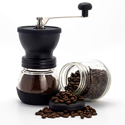 Handheld Manual Coffee Bean Grin...