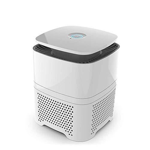 SZHWLKJ Purificador de Aire, con el generador de Iones Negativos, Personal Cleaner Escritorio Sala de Aire for el hogar, la Oficina for Las alergias, Humo, Polvo, Polen y Pelo de Mascotas