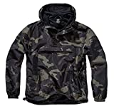 Brandit Summer Windbreaker, Darkcamo, XL