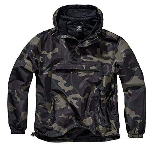 test & Vergleich Brandit Summer Windbreaker, Darkcamo, L.