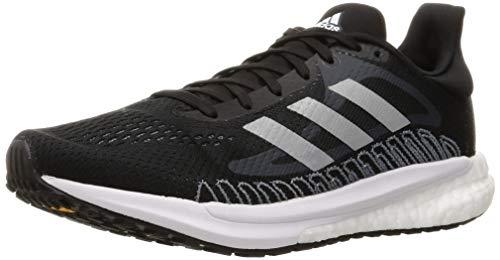 adidas Herren Solar Glide 3 Running Shoe, Core Black/Blue Oxide/Dash Grey, 44 2/3 EU