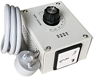 WBT-4000W 220V Controllable Variable Voltage Regulator Light Brightness Temperature Adjustment Fan Speed Motor Electric Dimmer