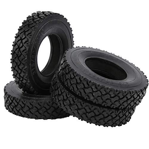 Neumático de Goma para Coche RC Neumático RC Alta Resistencia a la abrasión para garantizar una conducción Estable y Flexible para Mejorar la Apariencia de los Coches de Control Remoto
