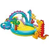 Intex-57135NP Dinoland Play Centro de juegos acuático