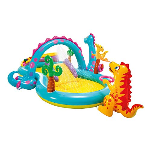 Intex Dinoland Play Center - Kinder Aufstellpool - Planschbecken - 333...