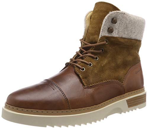GANT Footwear Herren Jean Klassische Stiefel, Braun (Cognac G45), 43 EU