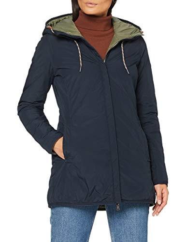 camel active Womenswear Damen 3207104R2682 Jacke, Marine, 36