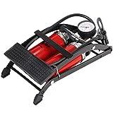 Abaodam Bomba de pie portátil de alta presión pedal bomba de aire para bicicletas, motocicletas bolas y otros inflables (color surtido)