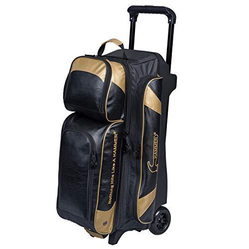 HAMMER Premium 3-Ball Roller schwarz/Gold