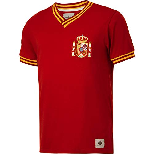 Camisa Espanha Retrô nº 10 Masculina