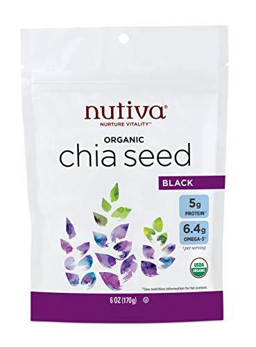 Nutiva Organic Premium Raw Black Chia...