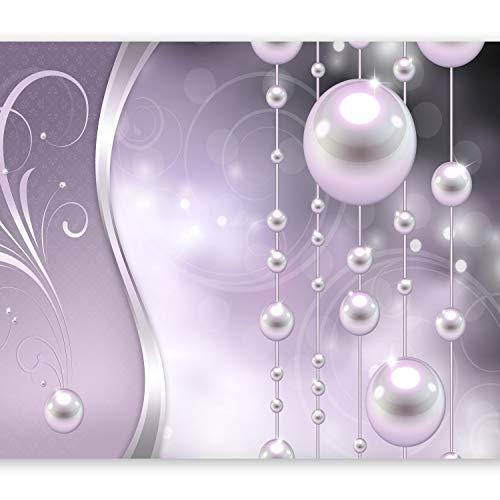 murando Fototapete 350x256 cm Vlies Tapeten Wandtapete XXL Moderne Wanddeko Design Wand Dekoration Wohnzimmer Schlafzimmer Büro Flur Abstrakt Ornament Perlen f-A-0170-a-c