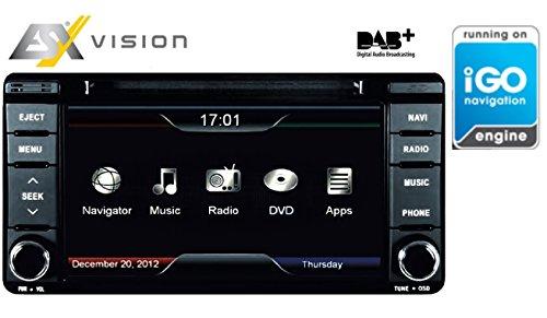 ESX VN610-MT-U1-DAB Autoradio mit Navigation für Mitubishi Modelle