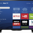 "Insignia 39"" Class - LED - 1080p - Smart - HDTV Roku TV Black NS-39DR510NA17 - Best Buy"