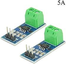 XLX 2PCS ACS712 30A AC and DC Current Sensor Module ACS712-5A 20A 30A Module Highly Sensitive HumidityHigh Efficient for Arduino (5A)