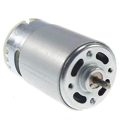 Pangocho Jinchao-Motor de Corriente Continua 1 PCS RS555 DC Hobby Motor, Generador de turbinas 12 V 5500RPM Torque de Altura, Fácil de Instalar