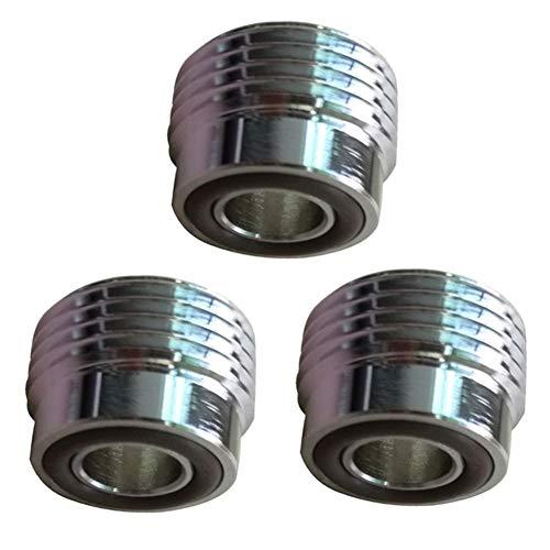 XINGJIJIJIA Alta Resistencia Yugo del Cilindro del Tanque de válvula Interna Adaptador convertidor de Buceo O-Rings una Abrazadera convertidor Tech Kit Excelente (Color : 3PC)
