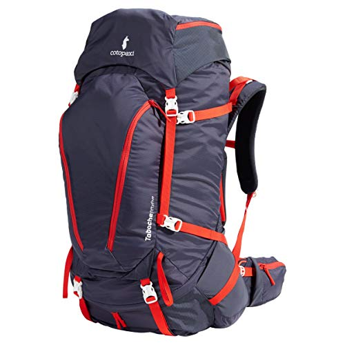 Cotopaxi Taboche 55L Backpack - Graphite/Fiery Red