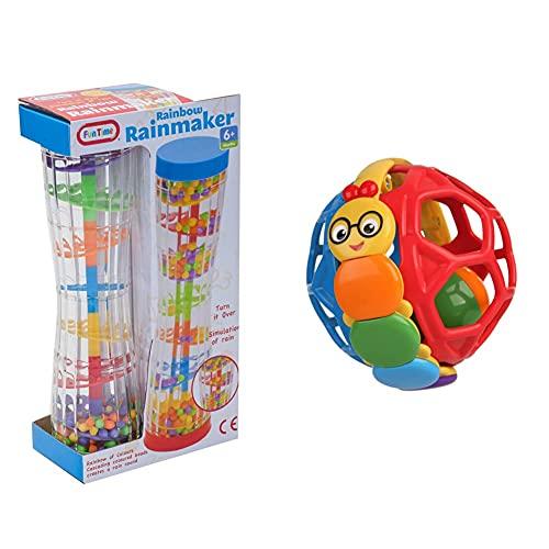 Funtime 55914 Rainbow Rainmaker Toy & Kids II Baby Einstein Bendy Ball