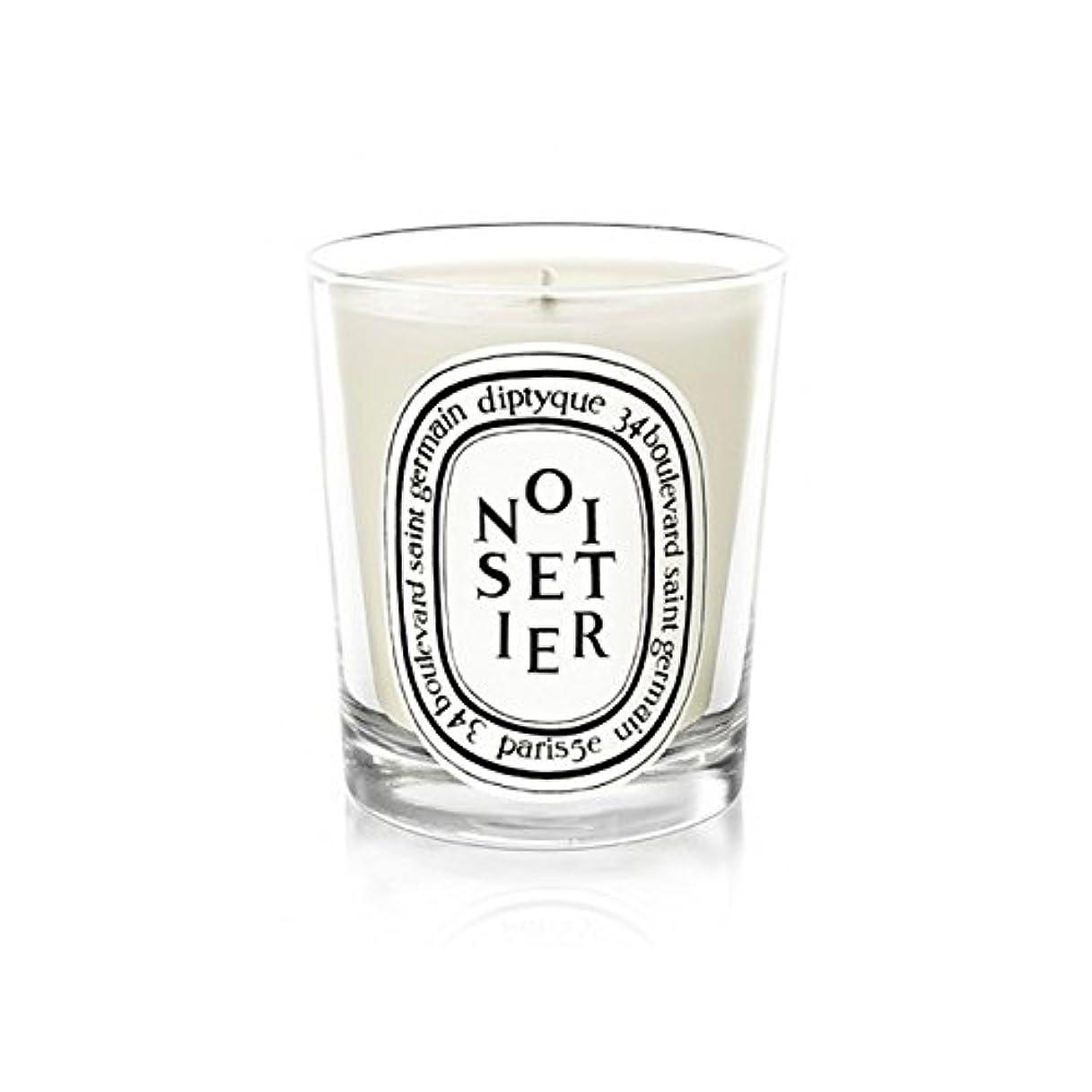 道徳の開拓者治すDiptyque Noisetier Mini Candle 70g (Pack of 6) - Diptyque Noisetierミニキャンドル70グラム (x6) [並行輸入品]