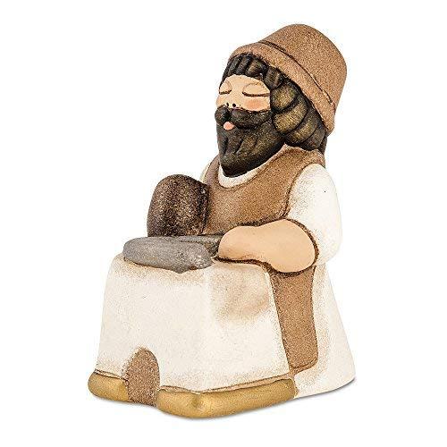 THUN - Uomo Maniscalco - Versione Bianca - Statuine Presepe Classico - Ceramica - I Classici