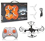 The Party Shopers HX 750 Drone Quadcopter 360 Degree Movable Stunt Drone Without Camera for Kids (Black)