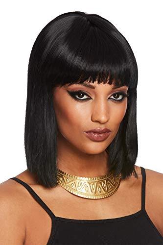 Smiffys Egyptian Chunky Necklace Collar grueso egipcio, color dorado, Talla única (72142)