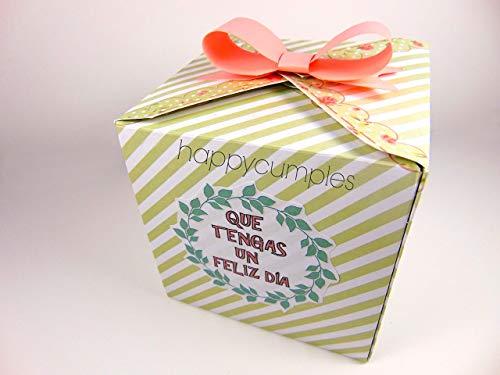 15 unidades Recuerdo para Invitados- Caja con chuches incluidos: Amazon.es: Handmade