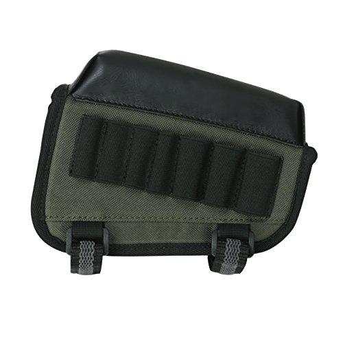 TOURBON Right Handy Shotgun Buttstock Cartridge Holder Rifle Cheek Rest Pouch