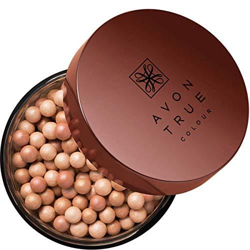 Avon Bronze Puderperlen strahlender Glow in der Bräunung Medium Tan