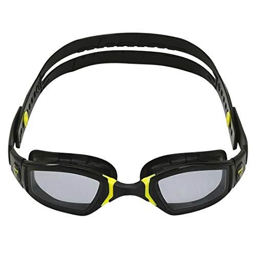 Phelps 2020 - Occhiali NINJA, lenti fumé, colore: Nero/Giallo