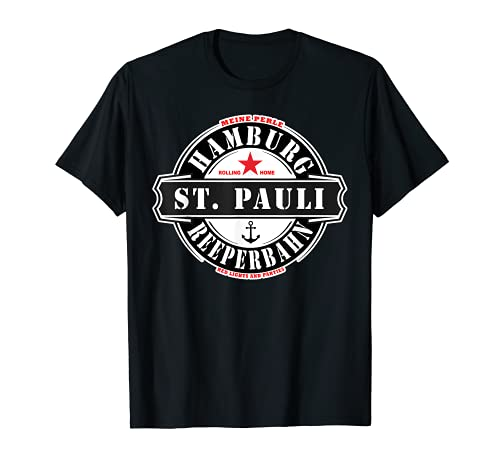 Hamburgo Reeperbahn St. Pauli Despedida soltero Regalo punk Camiseta