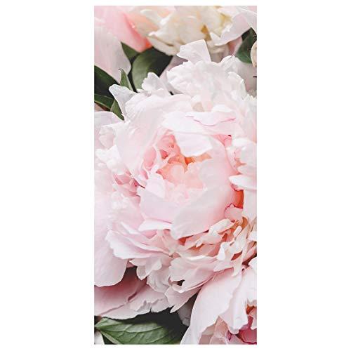 Bilderwelten Panel japones - Peonies Light Pink 250 x 120cm Incl. Soporte Transparente