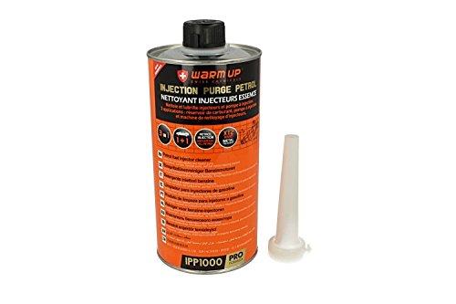 Warm Up - Código IPP1000 - Injection Purge Petrol - Limpiador para sistemas de inyección de gasolina (limpia bomba de inyección, inyectores, conductos, válvulas y cámara de combustión),1000ml