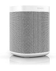 Sonos One Smart Speaker intelligente WLAN-luidspreker met Alexa spraakbediening, Google Assistant & AirPlay, wit
